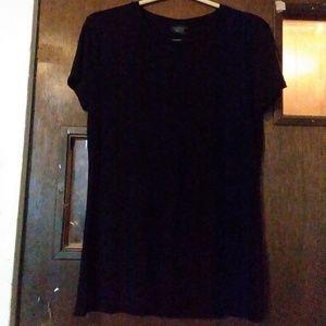 Black L/G tee shirt